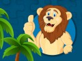 游戏 Strong Lions Jigsaw